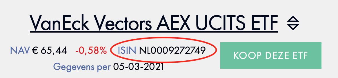 VanEck AEX UCITS